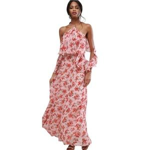 ASOS Floral Lovely Bohemian Maxi Dress Sz 4
